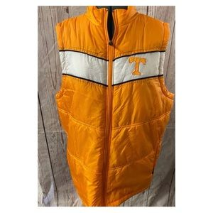 Tennessee Vols Puffer Vest - size Large